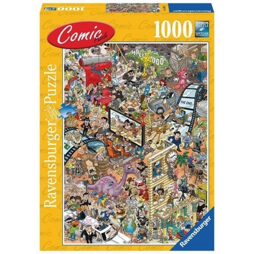 Hollywood - Colin Thompson, Ravensburger Puzzle 1000 pc