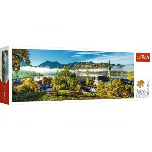 By the Schliersee lake, Trefl panorama Puzzle, 1000 pcs