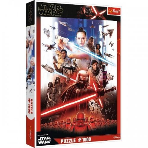Star Wars montázs, 1000 darabos Trefl puzzle