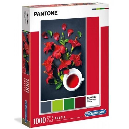 Red Hibiscus Aroma, Clementoni puzzle, 1000 db pcs