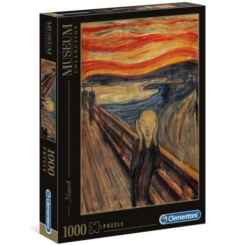 The Scream - Edvard Munch, Clementoni puzzle, 1000 pcs