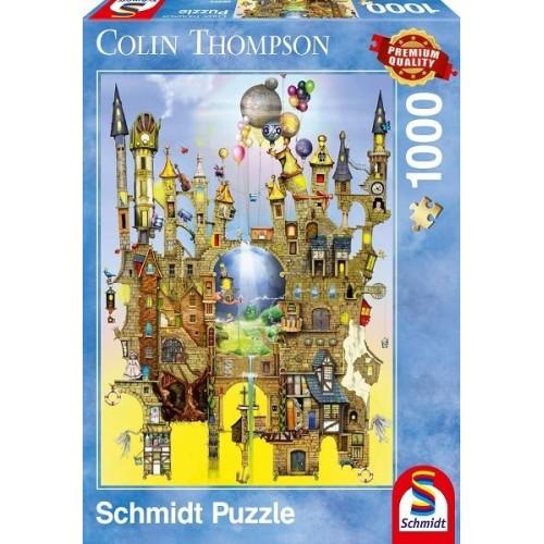 Castle in the air - Colin Thompson, Schmidt puzzle, 1000 pcs