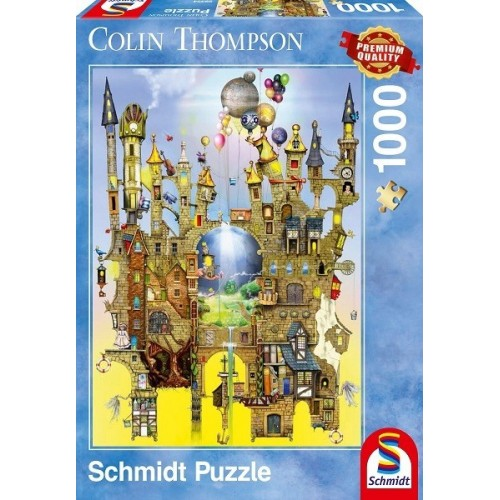 Légvár - Colin Thompson, 1000 darabos Schmidt puzzle