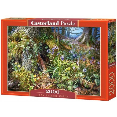 From Rusland Woods, Castorland puzzle 2000 pc