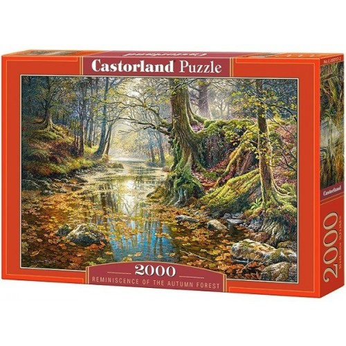 Reminiscence of the Autumn Forest, Castorland puzzle 2000 pc
