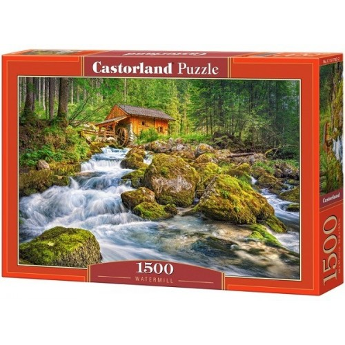 Watermill, Castorland puzzle 1500 pc
