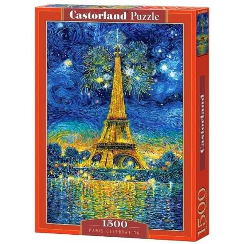 Ünnep Párizsban, 1500 darabos Castorland puzzle