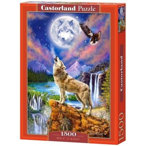 Farkasok éjszakája, 1500 darabos Castorland puzzle