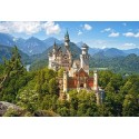View of the Neuschwanstein Castle - Germany, Castorland Puzzle 500 pcs