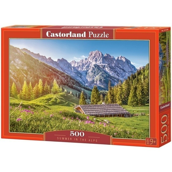 Summer in the Alps, Castorland Puzzle 500 pcs