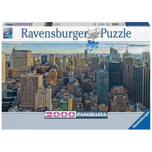 View over New York, Ravensburger Panoramic puzzle 2000 pc