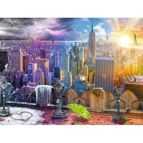 Seasons of New York, Ravensburger Jigsaw Puzzle 1500 pc