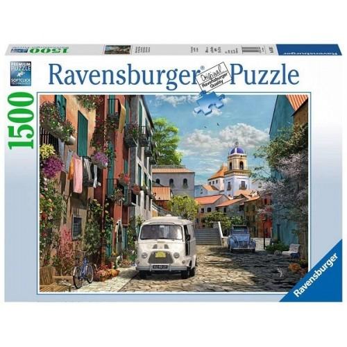 Idill délen - Franciaország, 1500 darabos Ravensburger puzzle