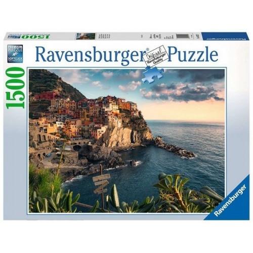 Cinque Terre, 1500 darabos Ravensburger puzzle