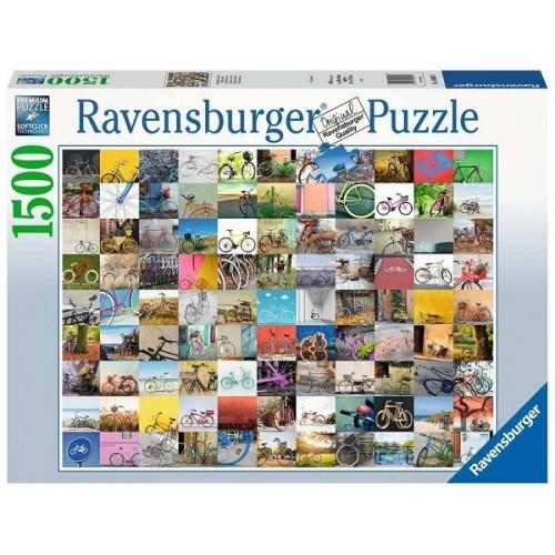 99 bicikli, 1500 darabos Ravensburger puzzle
