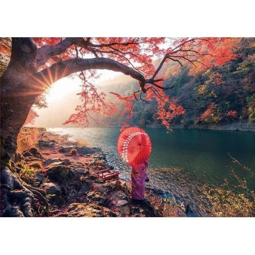 Sunrise in Katsura river, Educa puzzle 1000 pcs