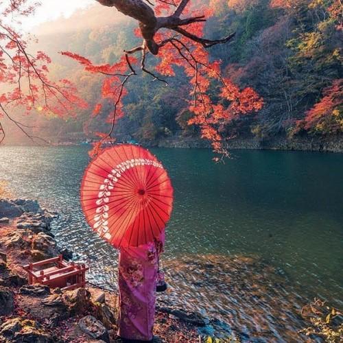 Napkelte a Katsura folyónál, 1000 darabos Educa puzzle