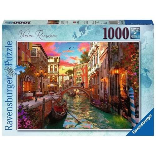 Velencei romantika, 1000 darabos Ravensburger puzzle