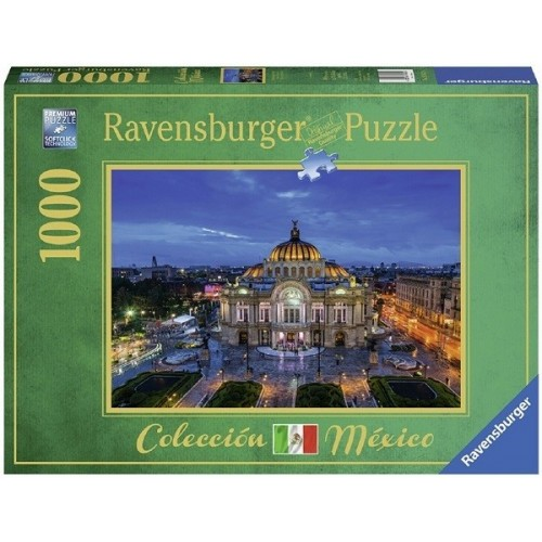 Palace of Fine Arts - Mexico City, Ravensburger Puzzle 1000 pc