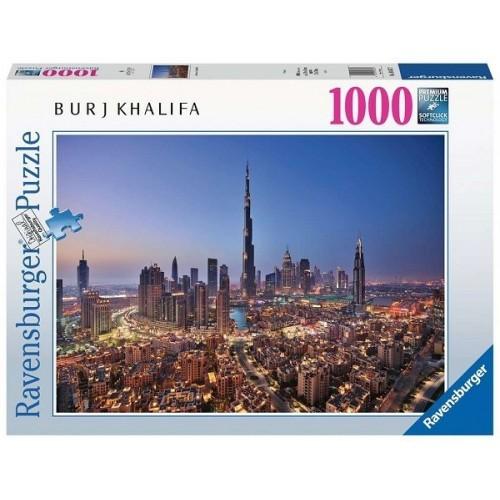 Dubaj belvárosa, 1000 darabos Ravensburger puzzle