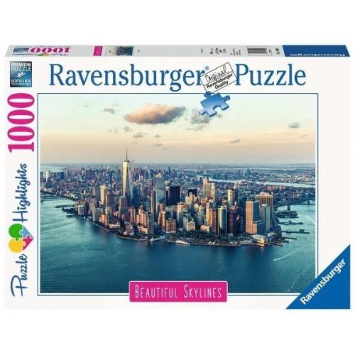 New York, 1000 darabos Ravensburger puzzle