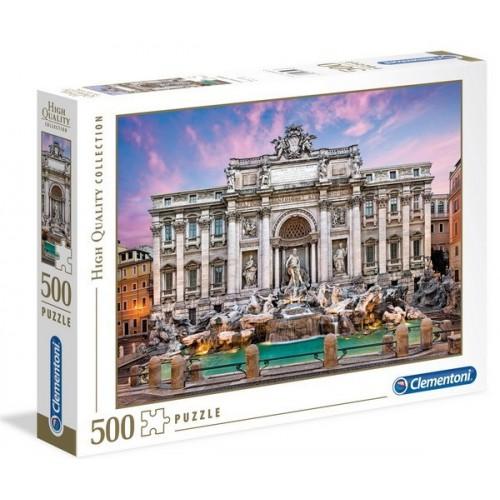 Trevi-kút - Róma, 500 darabos Clementoni puzzle