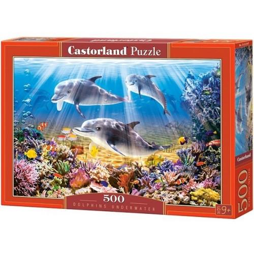 Delfinek, 500 darabos Castorland puzzle