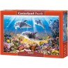 Dolphins underwater, Castorland Puzzle 500 pcs