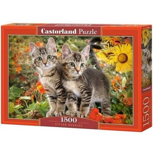 Cica haverok, 1500 darabos Castorland puzzle