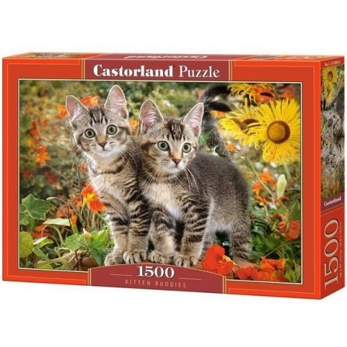 Kitten Buddies, Castorland puzzle 1500 pc