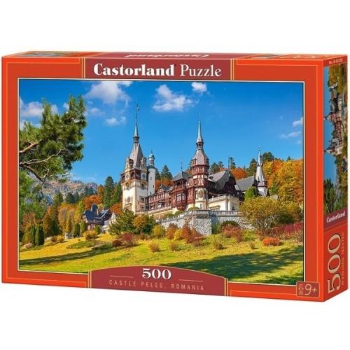 Castle Peles - Romania, Castorland Puzzle 500 pcs