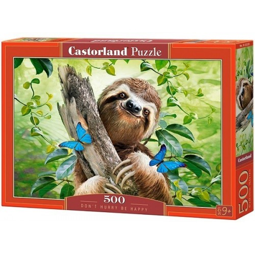 Don't Hurry Be Happy, Castorland Puzzle 500 pcs