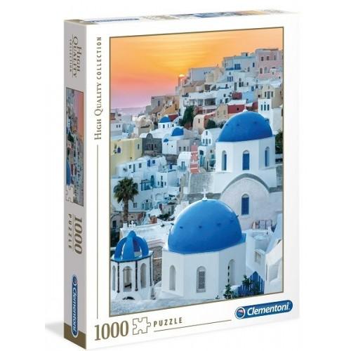 Santorini, Clementoni puzzle, 1000 db pcs