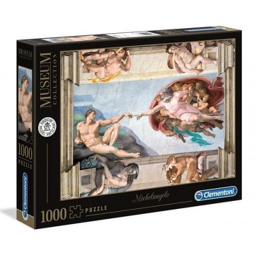 The Creation of Man - Michelangelo, Clementoni puzzle, 1000 pcs