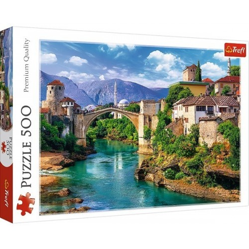 Old Bridge in Mostar, Trefl puzzle, 500 pcs