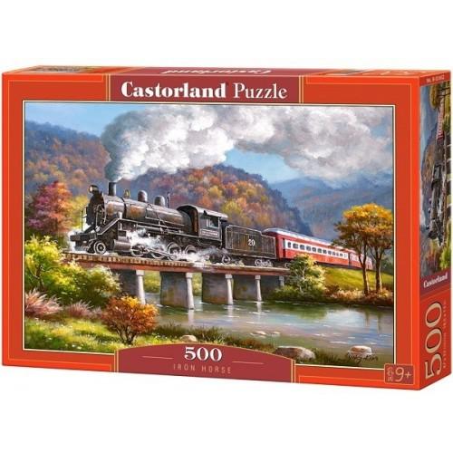 Iron Horse, Castorland Puzzle 500 pcs