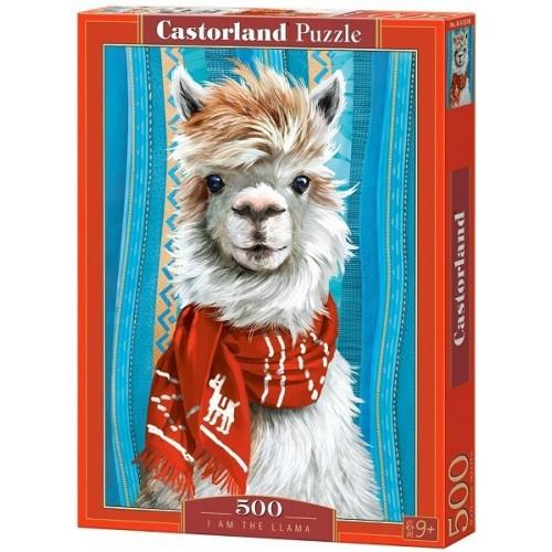 Láma, 500 darabos Castorland puzzle