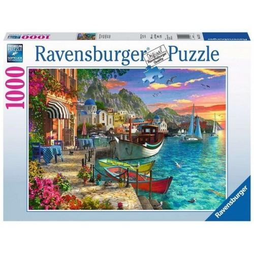 Csodálatos Görögország, 1000 darabos Ravensburger puzzle