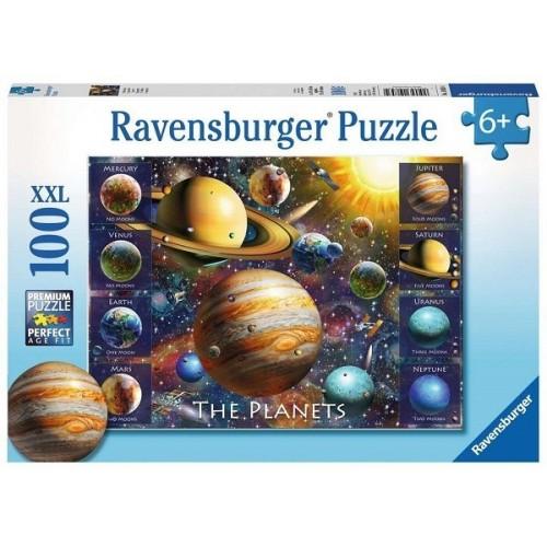 A Bolygók, 100 darabos Ravensburger XXL puzzle