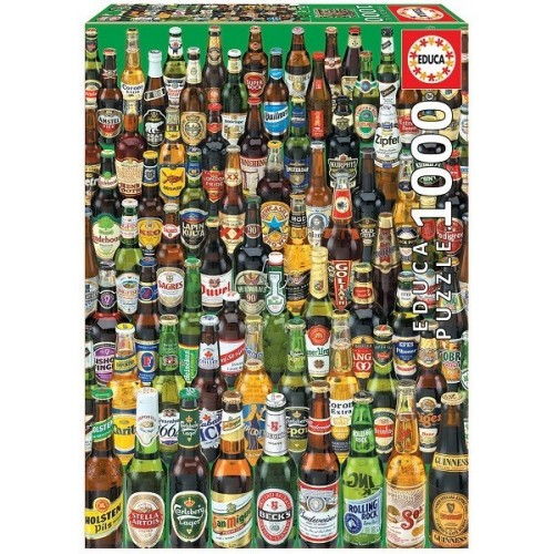 BEERS, Educa Puzzle 1000 pc