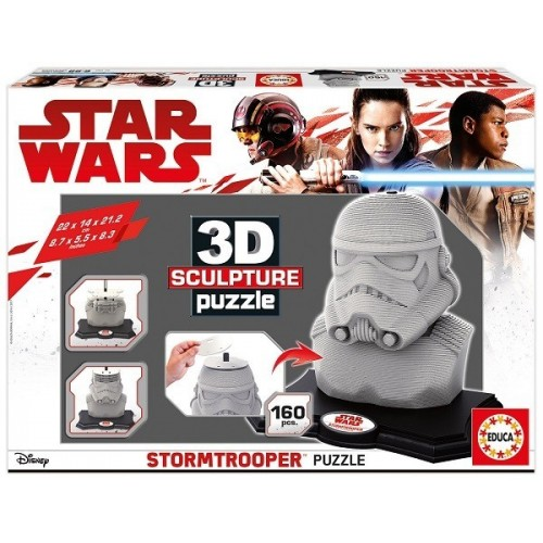 Star Wars -Stormtrooper, 3D Sculpture puzzle 160 pc