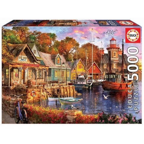 The Harbour Evening, Educa puzzle 5000 pc