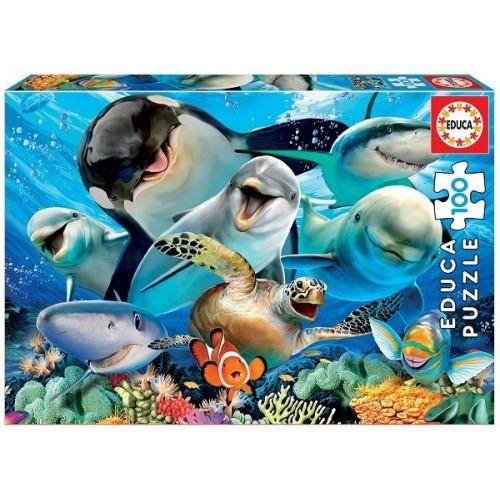 Underwater Selfie, Educa puzzle 100 pc
