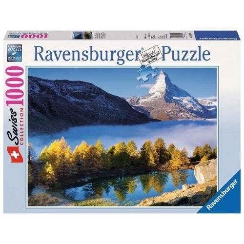 Matterhorn from Lake Grindji, Ravensburger Puzzle 1000 pc