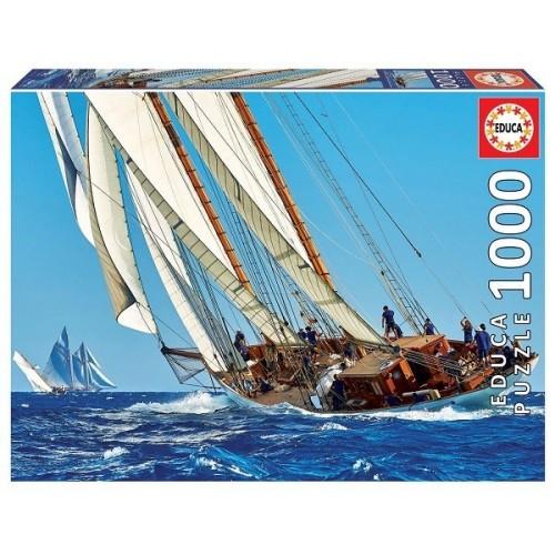 Yacht, 1000 darabos Educa puzzle