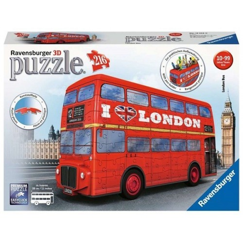 London Bus, Ravensburger 3D puzzle 216 pc
