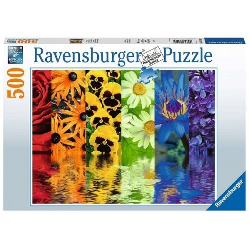 Virág dekor, 500 darabos Ravensburger puzzle