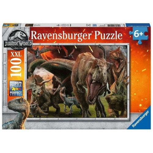 Jurassic World, Ravensburger Puzzle 100 pcs XXL