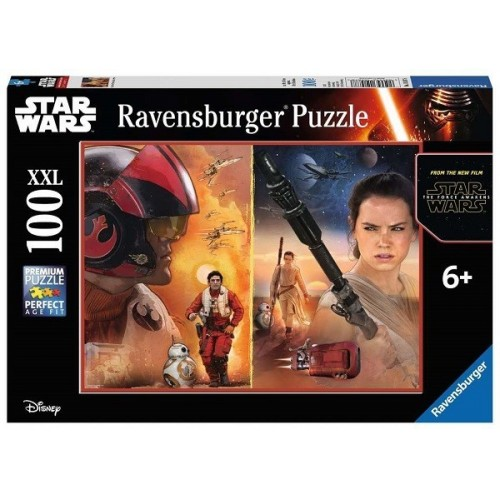 Star Wars - The Force Awakens, Ravensburger Puzzle 100 pcs XXL