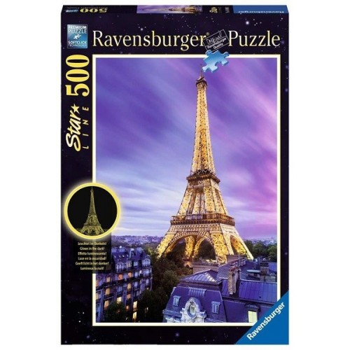 Beautiful Eiffel Tower, Ravensburger Puzzle 500 pc